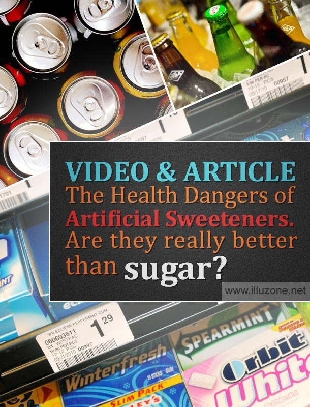 VIDEO & ARTICLE | The Health Dangers of Artificial Sweeteners. Are they really better than sugar?
