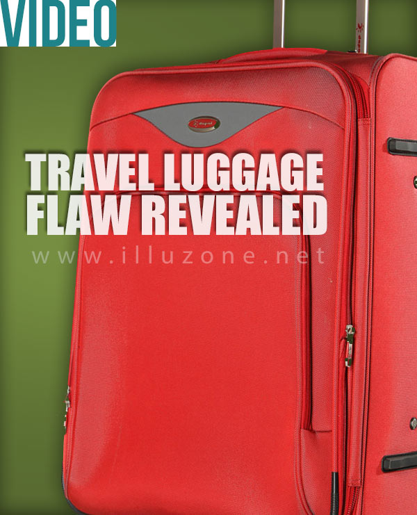 VIDEO | He unzipped his luggage to reveal something shocking! Everyone should see this