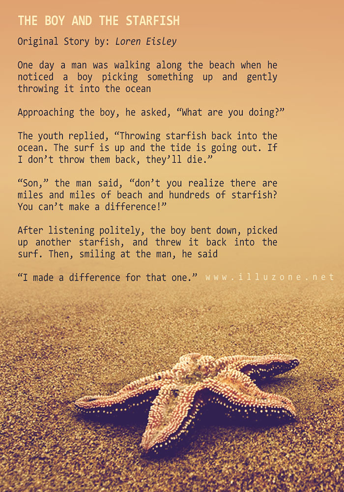 SHORT STORY | The boy and the starfish
