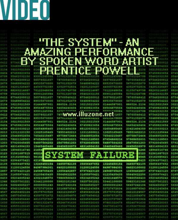 "VIDEO | ""The System"" – An amazing performance by spoken word artist Prentice Powell"