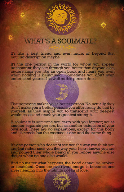 POSTER | What's a soulmate?