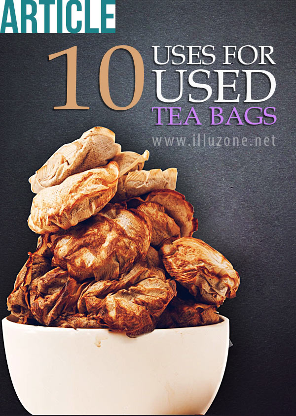 ARTICLE | 10 uses for used tea bags – Don't throw them away