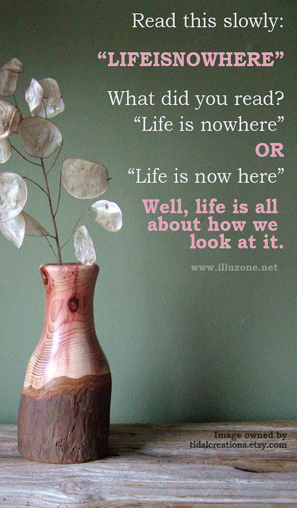 QUOTE | Life is nowhere…