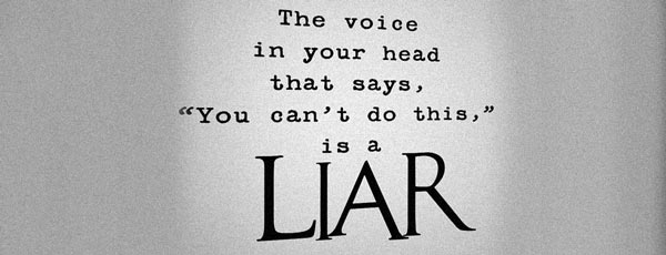 The voice in your head quote liar
