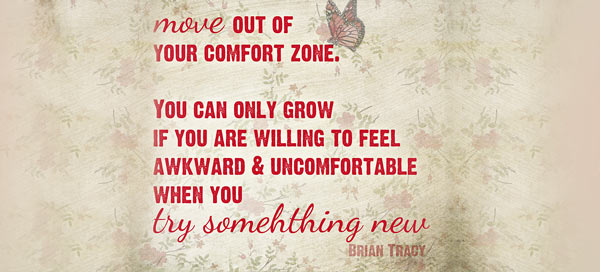 try something new comfort zone quote