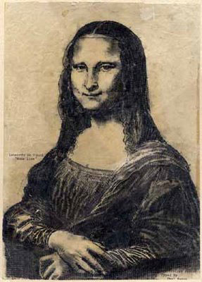 Mona Lisa by Paul Smith