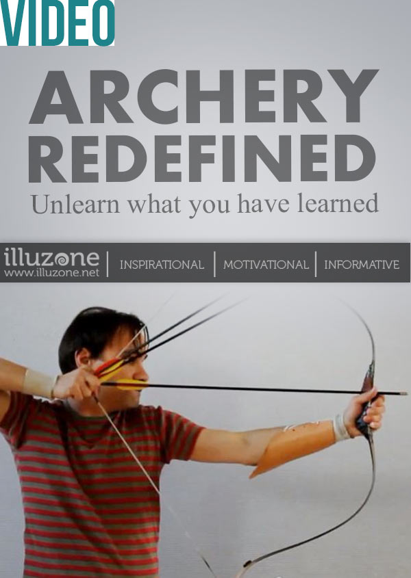 Everything you know about archery is a lie. This guy proves it