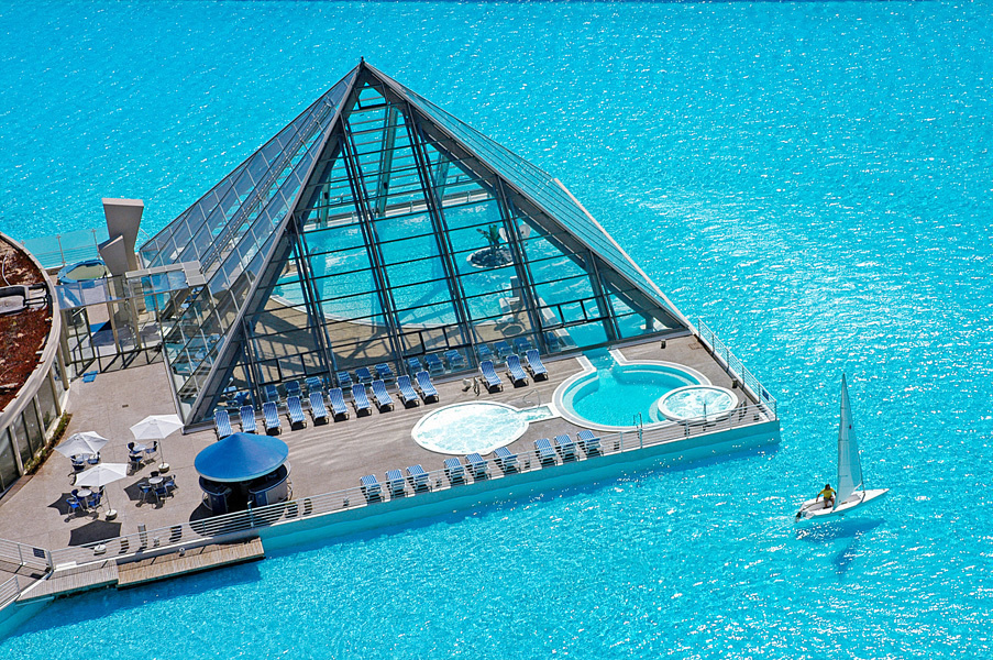 exotic swimming pools