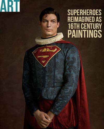 ART | Superheroes reimagined as 16th century paintings