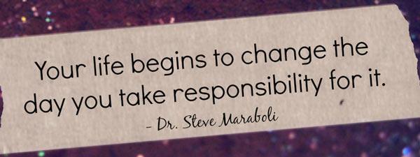 Take responsibility quote