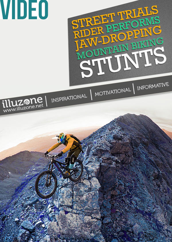 VIDEO   Street trials rider performs jaw-dropping mountain biking stunts along the Cuillin Ridgeline, Scotland