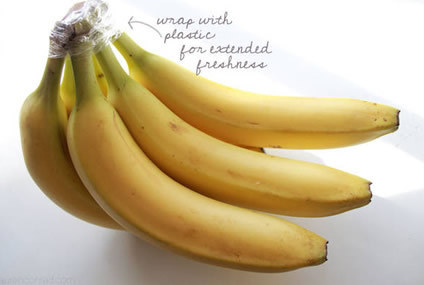 preventdisease.com This trick is especially helpful if you eat organic bananas.