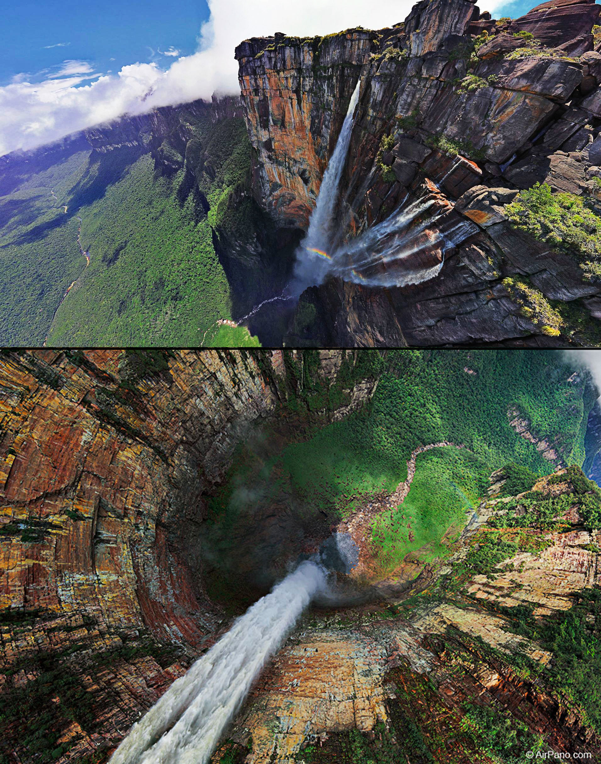 Angel-Falls-in-Venezuela---most-amazing-waterfalls
