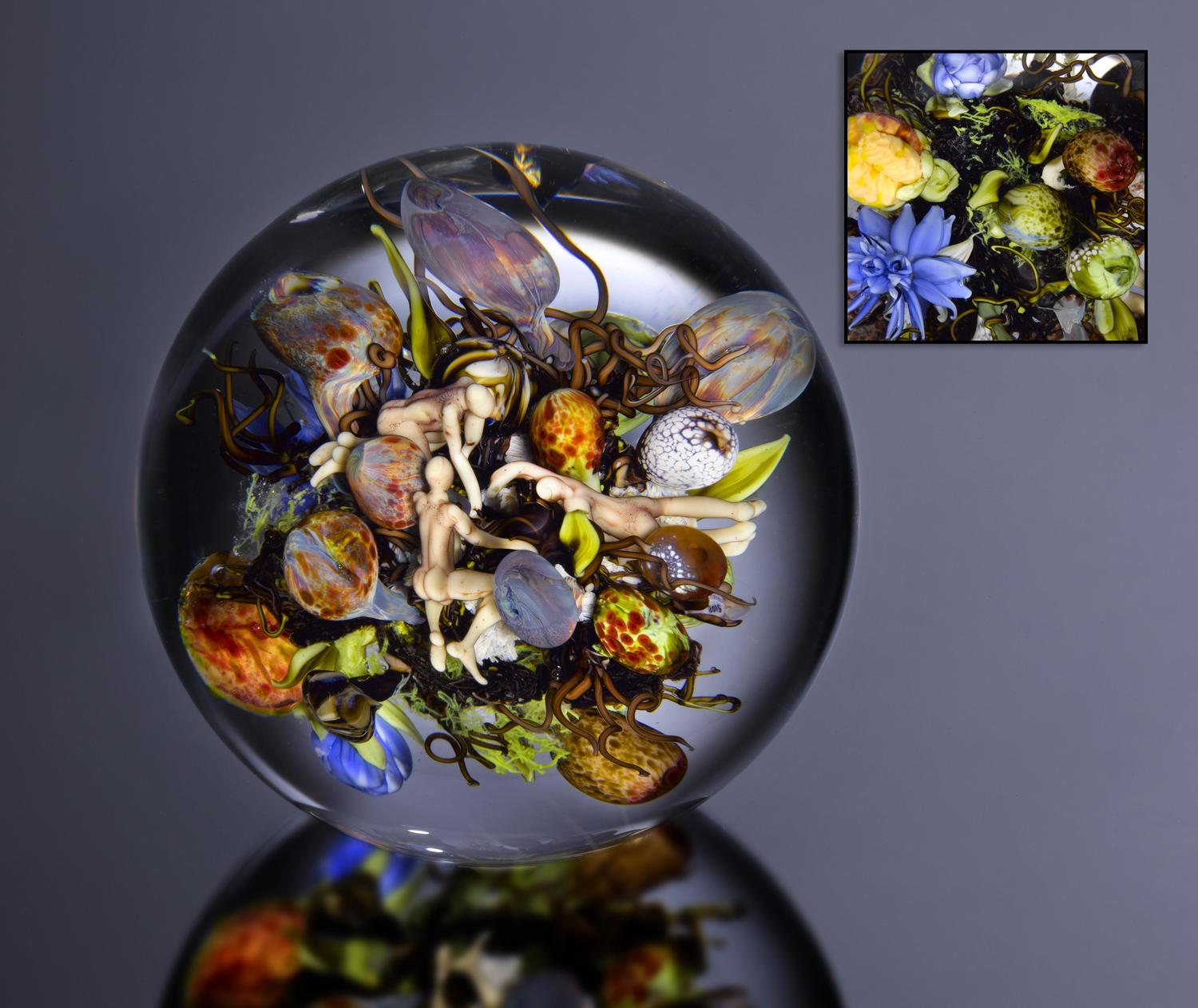 Paul Stankard Artistic Glass Paperweights 1