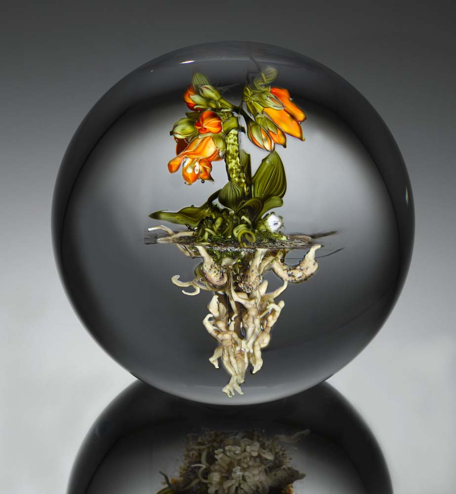Paul Stankard Artistic Glass Paperweights