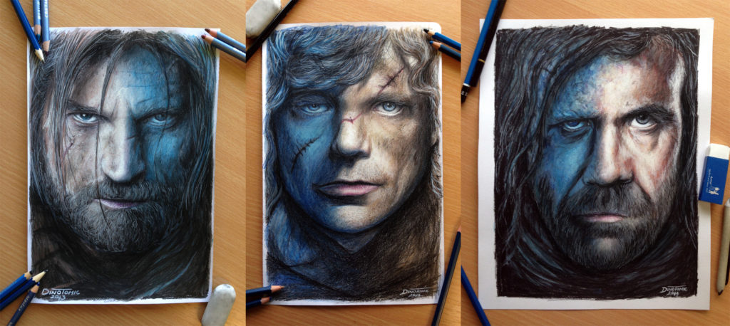 Game of Thrones Fan Art - Portraits