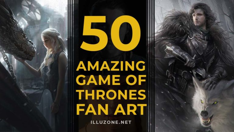 50 Amazing Game of Thrones Fan Art