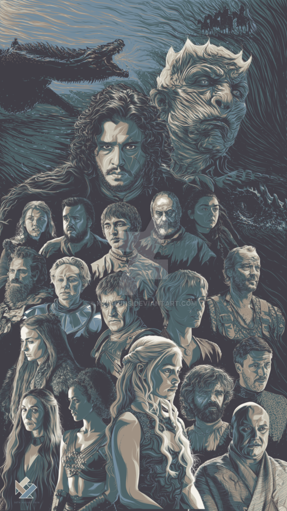 Game of Thrones Fan Art Tribute
