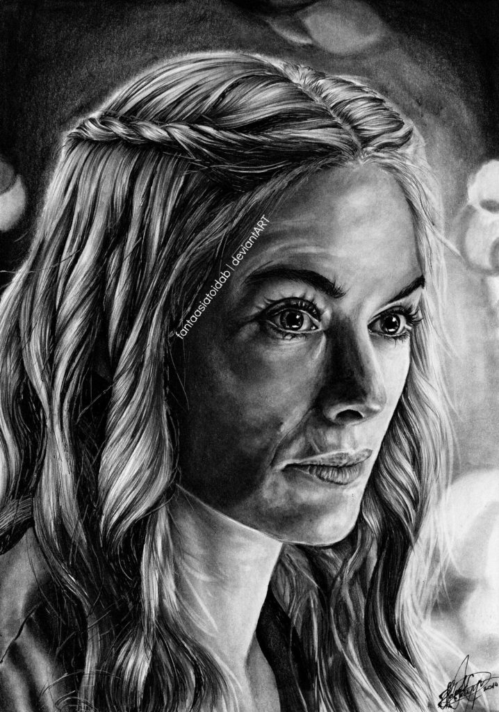 Game of Thrones Fan Art - Lady of Casterly Rock