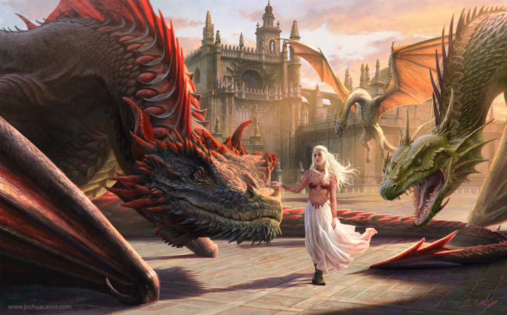 Game of Thrones Fan Art - Mother of Dragons