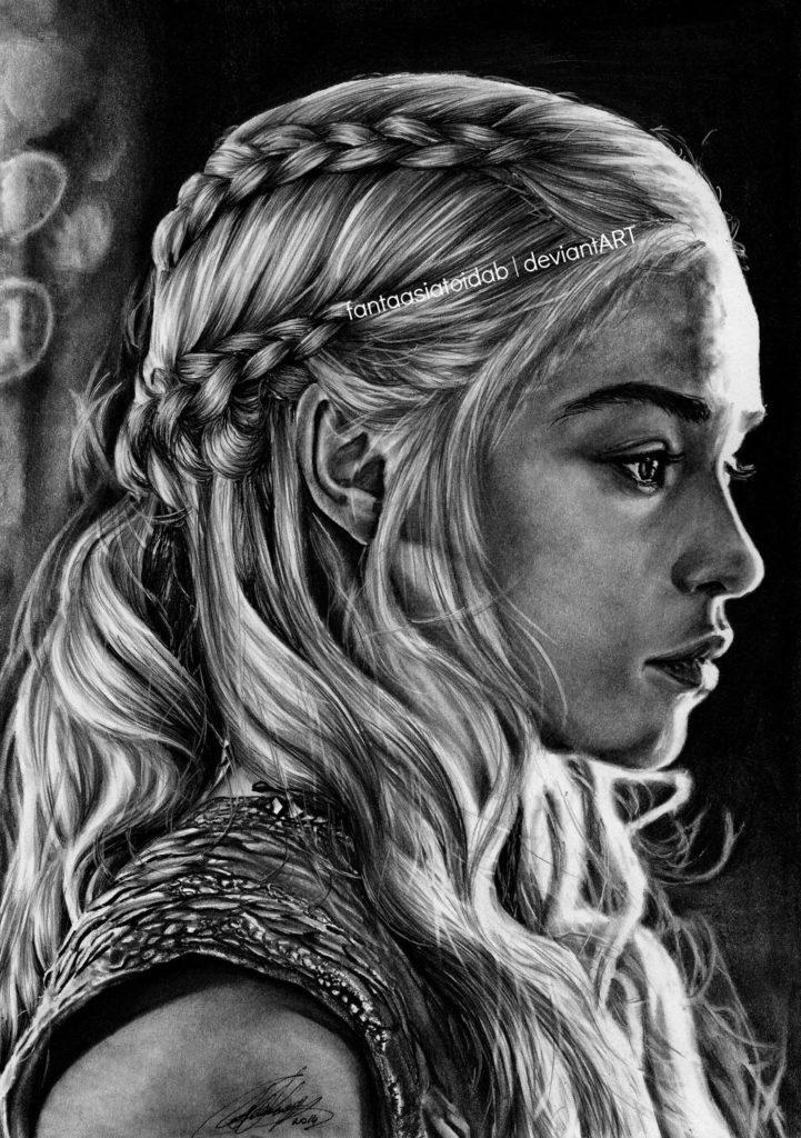 Game of Thrones Fan Art - The Last Dragon